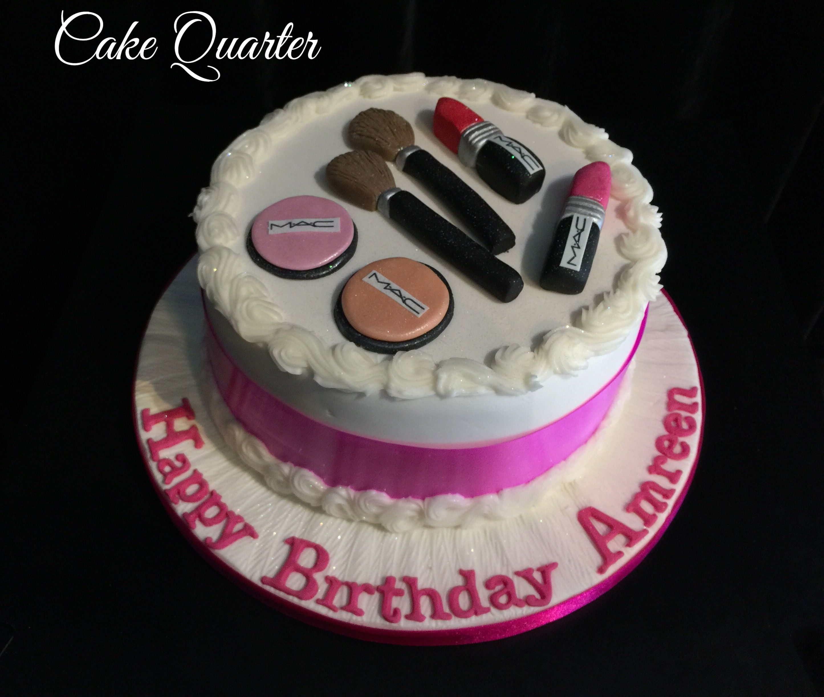 Make Up Birthday Cakes Personalised Your Day Cake Designed