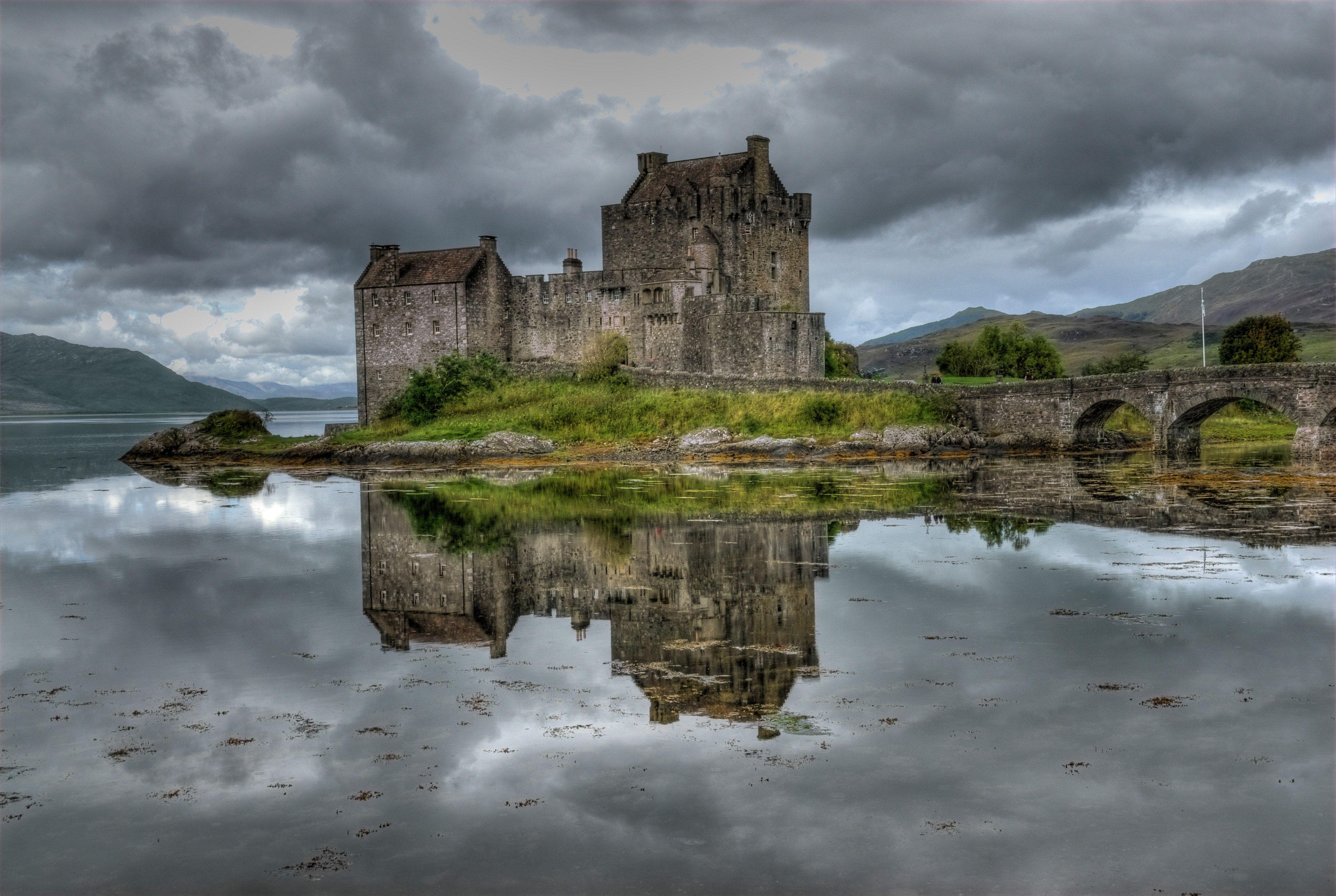 Eilean Donan Castle Loch Duich Scotland Ecosse Paysage Chateau Ecosse Photos Paysage