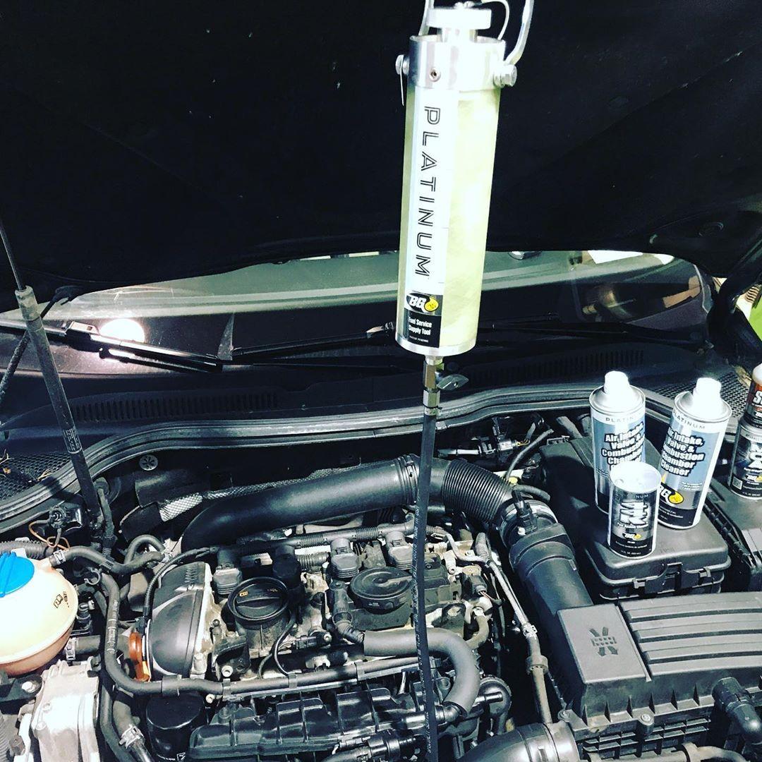 BG Intake Cleaning Servies I progress.#vw #cc | New cars ...