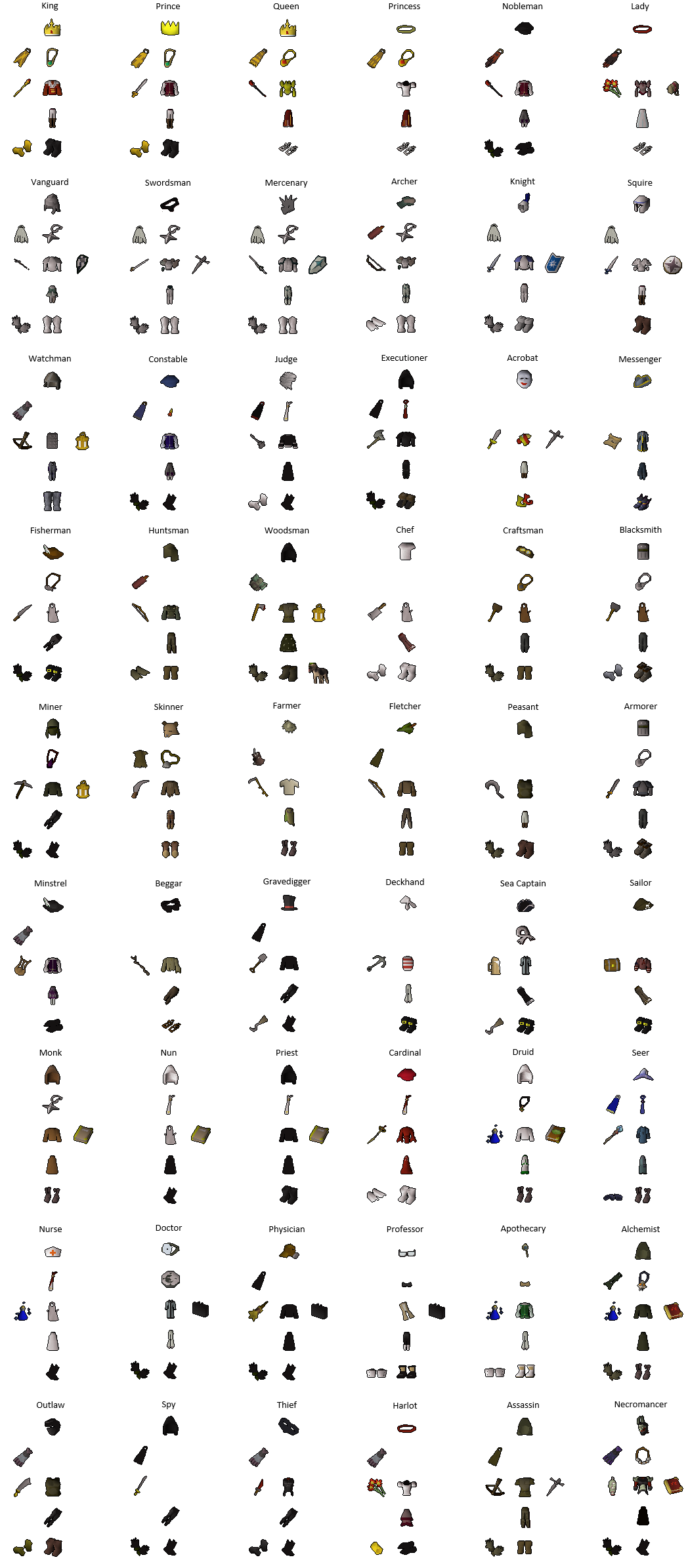 01cbde15c With the servers being down I tried my hand at Fashionscape (54 medieval  outfits)