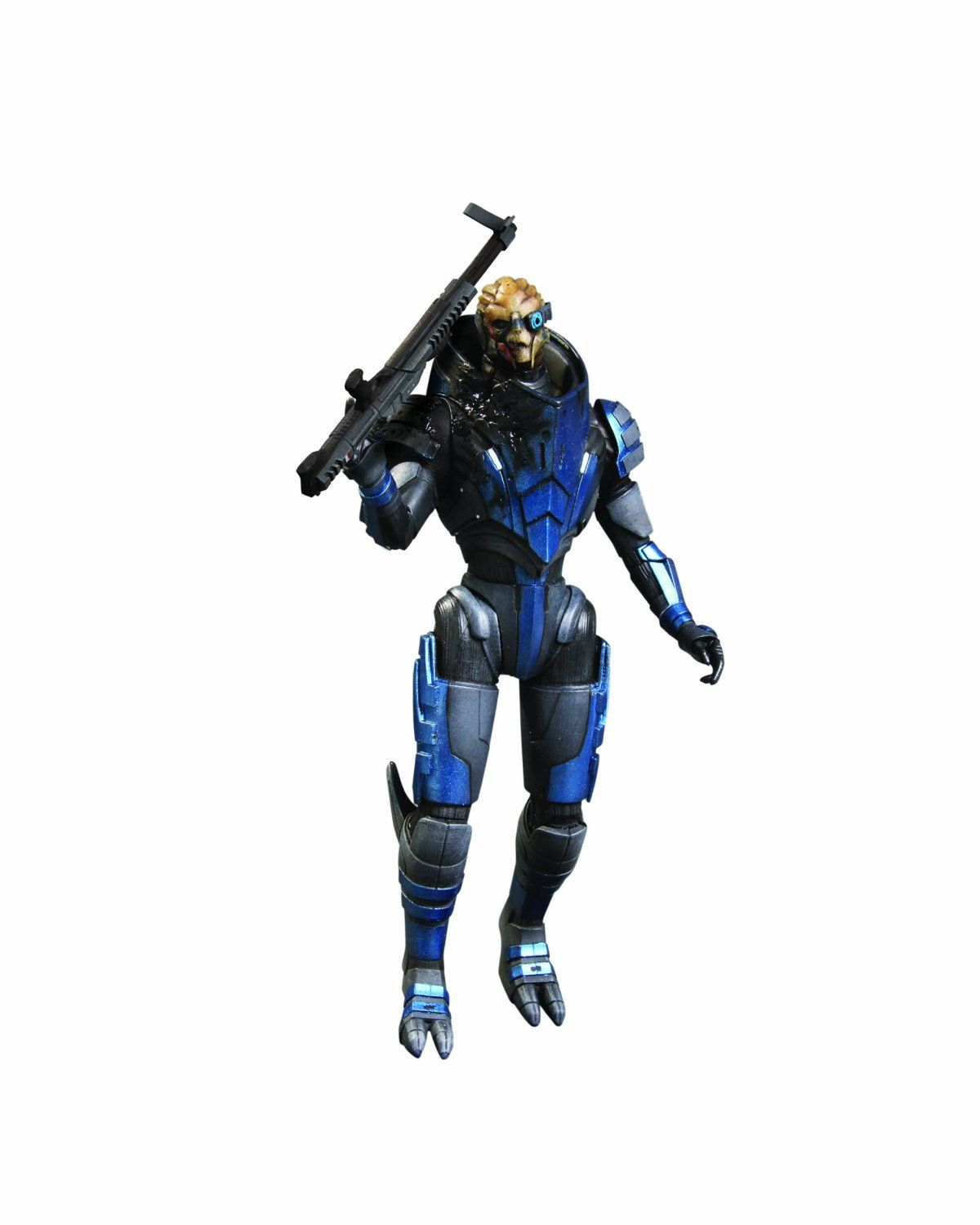 Mass Effect 3 Series 2 Garrus Action Figur Amazon De Kuche