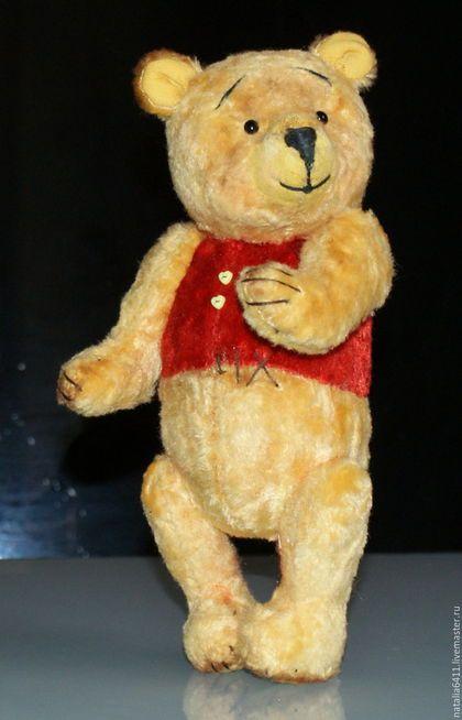 Мишки Тедди ручной работы. Мишка Тедди  a la Winnie N 2. Наталья Клецкина(Седова). Ярмарка Мастеров.