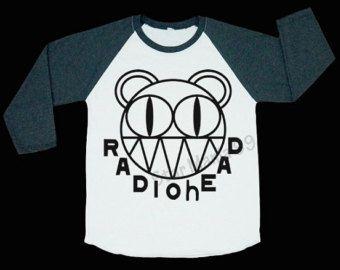 2188597f Radiohead Shirt Thom Yorke Shirt Alternative Rock Shirt Punk Shirt Baseball  Shirt Long Sleeve Shirt Women T-Shirt Unisex T-Shirt Size S,M,L