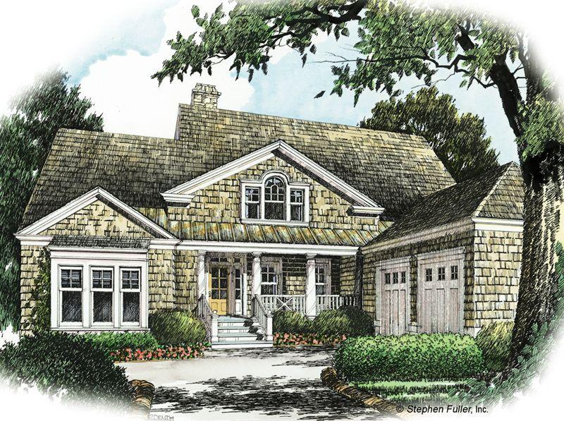 House Plan Grays Bluff Stephen Fuller Inc Shingle House Plans Luxury Floor Plans House Plans