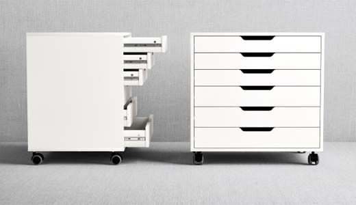 Wonderbaarlijk ALEX ladeblok | As an Artist - Ikea, Opberg speelgoed en Opbergkast SB-84