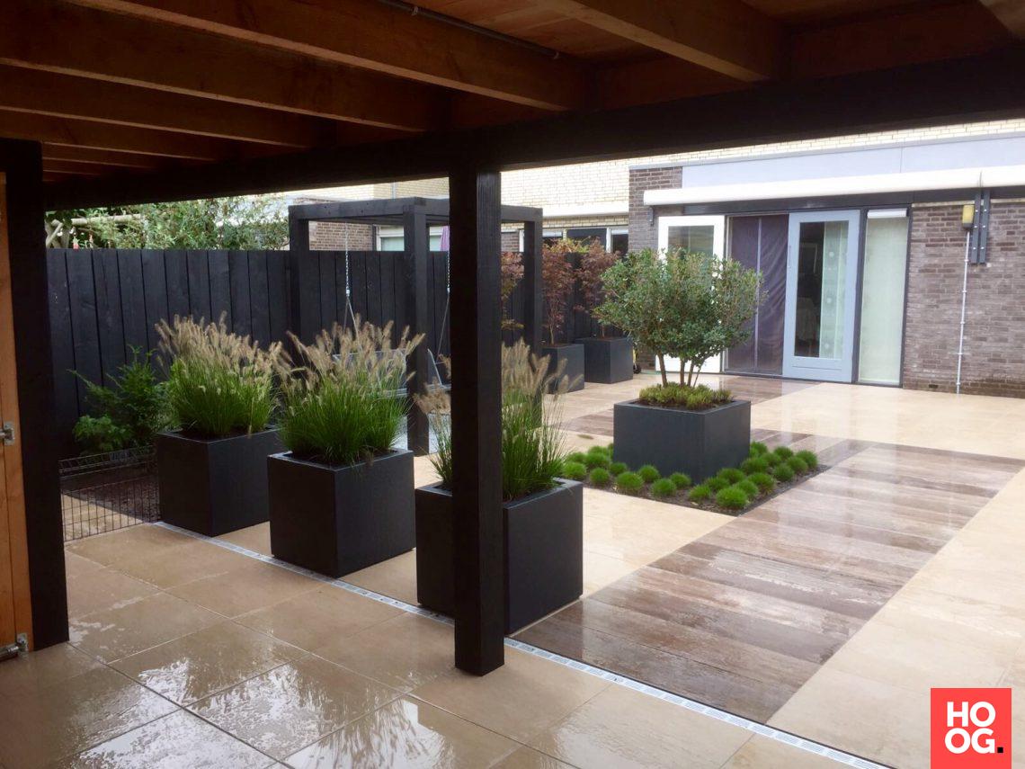 Stam hoveniers moderne tuin hoog □ exclusieve woon en tuin