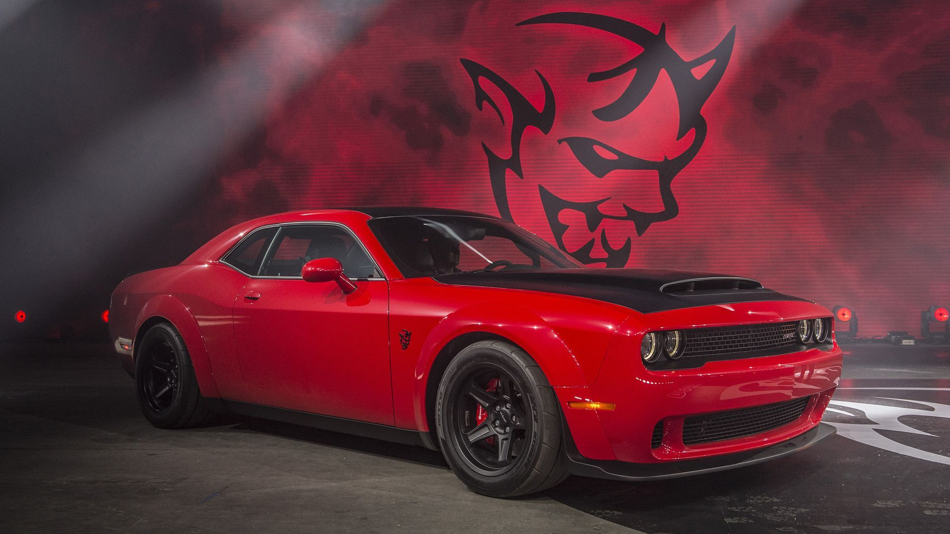 2018 Dodge Challenger Srt Demon Wallpaper 2018 Wallpapers Hd Cool American Cars Pinterest