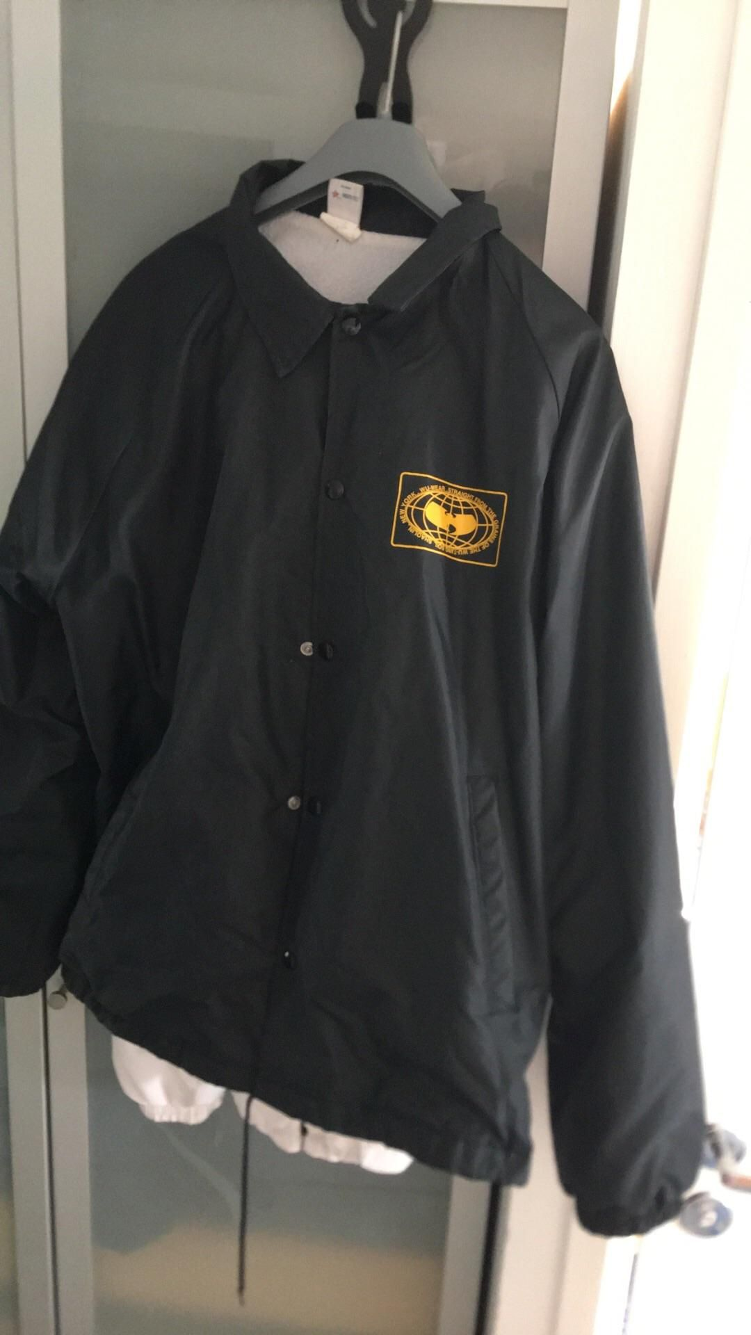 Inspo 1996 Wu Wear Coach Mint Condition Wu Tang Globe Logo In The Front Wu Tang Logo In The Back Bought In Nyc In 96 How To Wear Globe Logo Stuff To Buy [ 1920 x 1080 Pixel ]