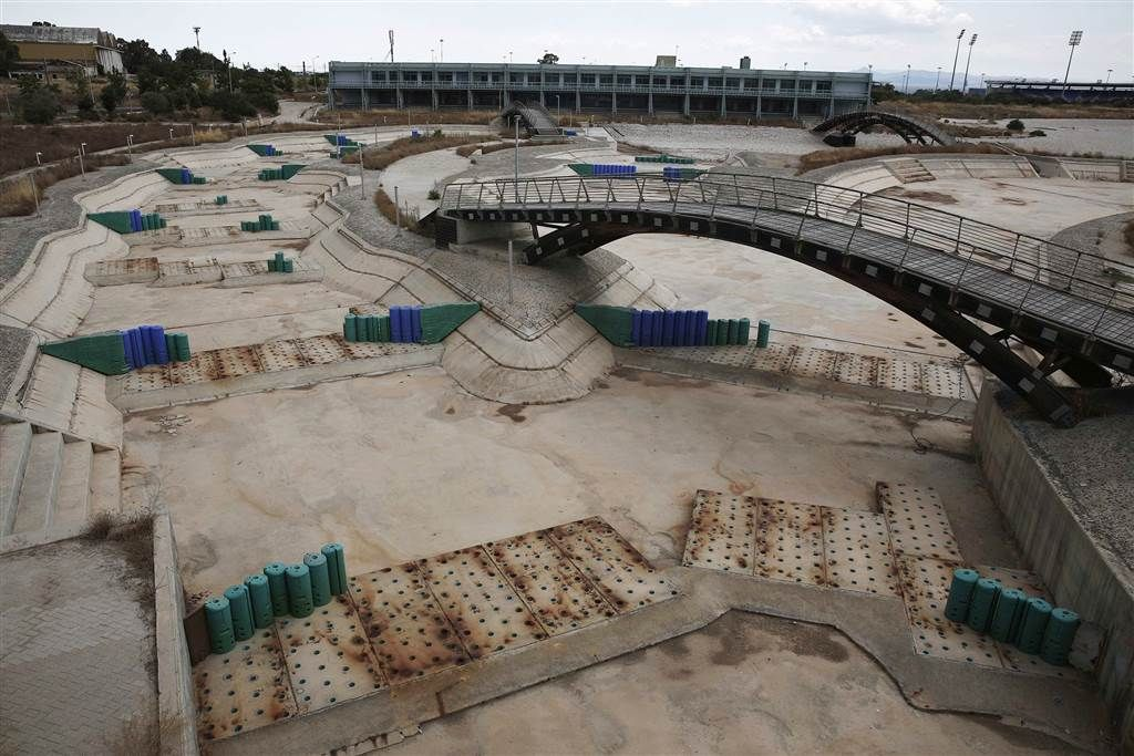 Ghostly Ruins Athens Olympic Venues Ten Years Later Olympic Venues Abandoned Olympic Games