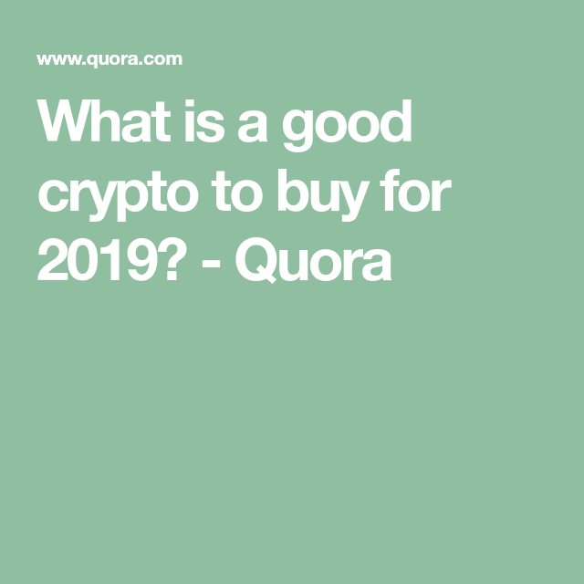 how cryptocurrency works quora