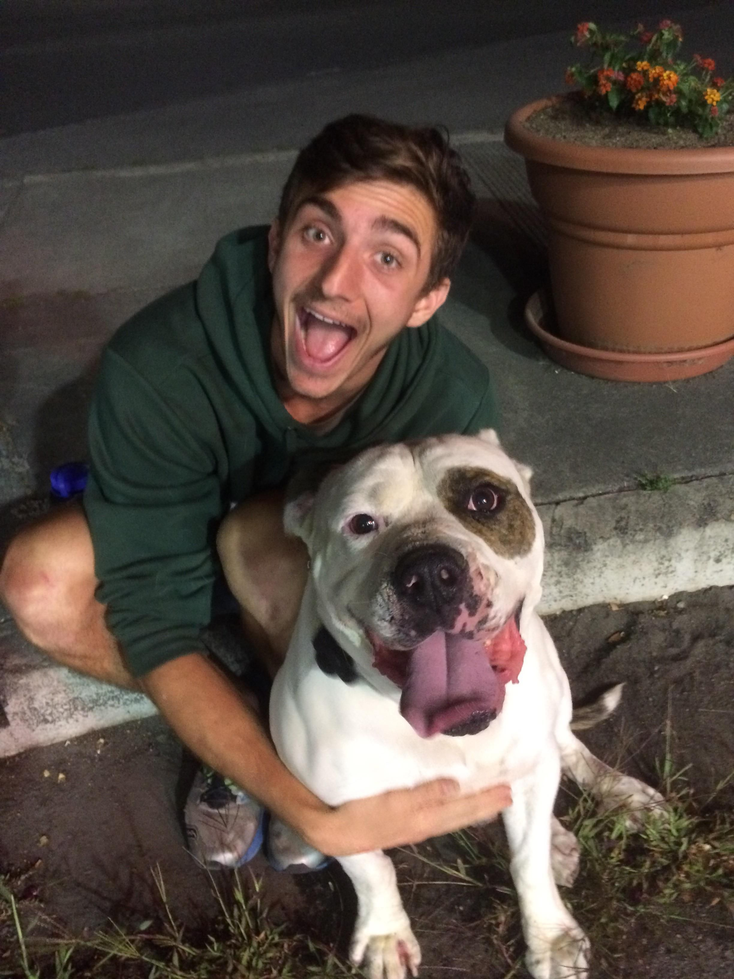 My brother and I found this dog without a tag and made sure his owner was found. Meatball 10/10 great boy! http://ift.tt/2tzAqZd