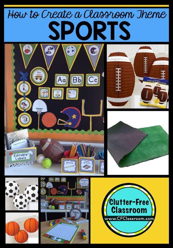 Classroom Decoration Free : Sports themed classroom ideas printable