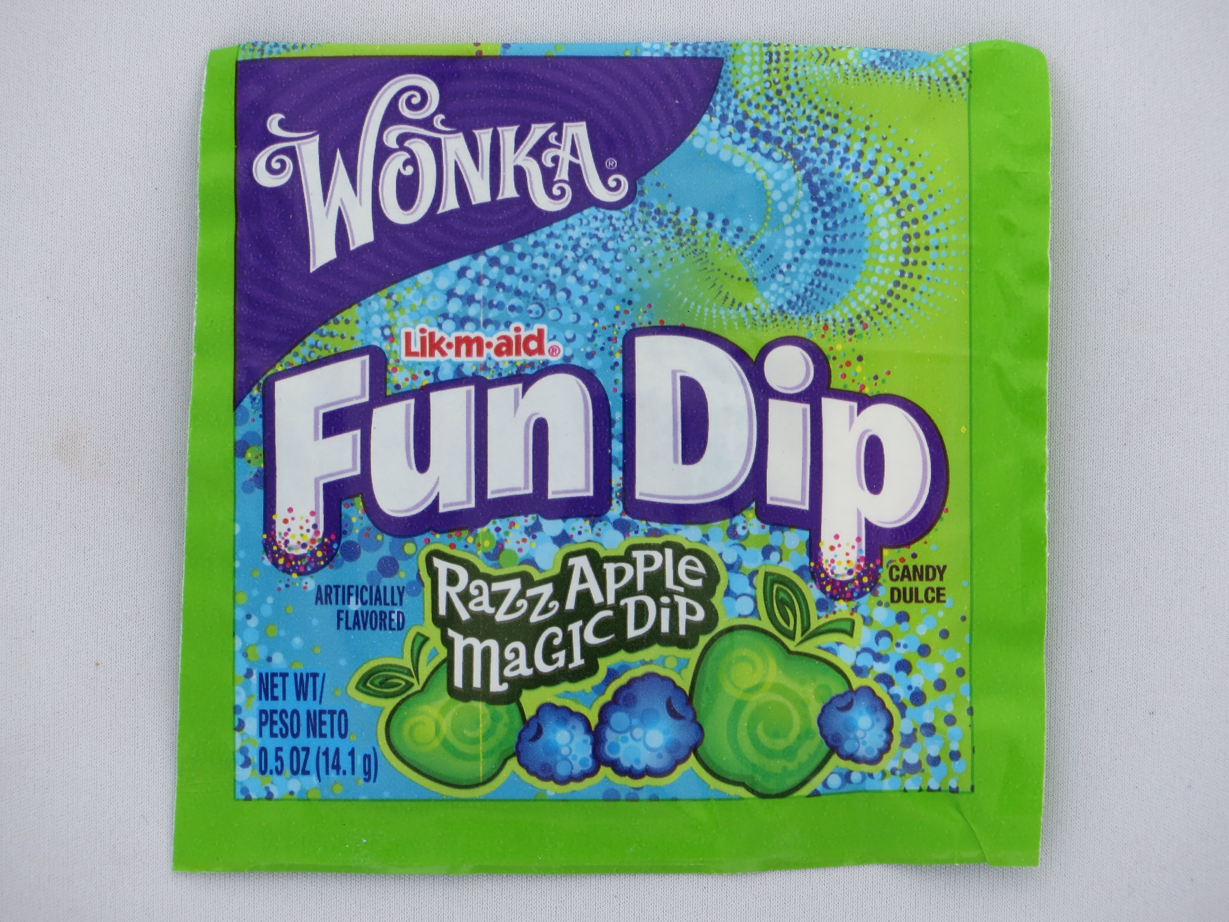 You can get fun dip anywhere. You can get at gas stations
