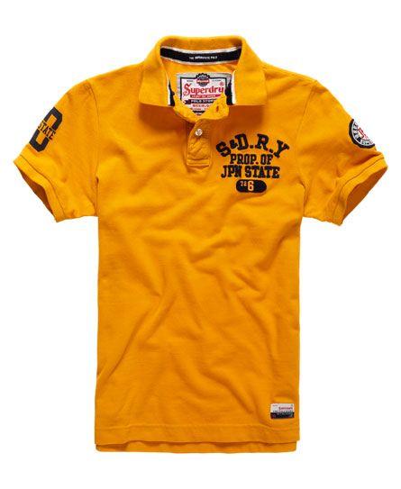 Superdry Super State Pique Polo Shirt  58ae824515