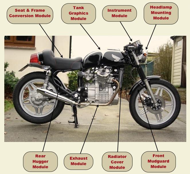 Cx500 Cafe Racer Kit Modules Honda Parts