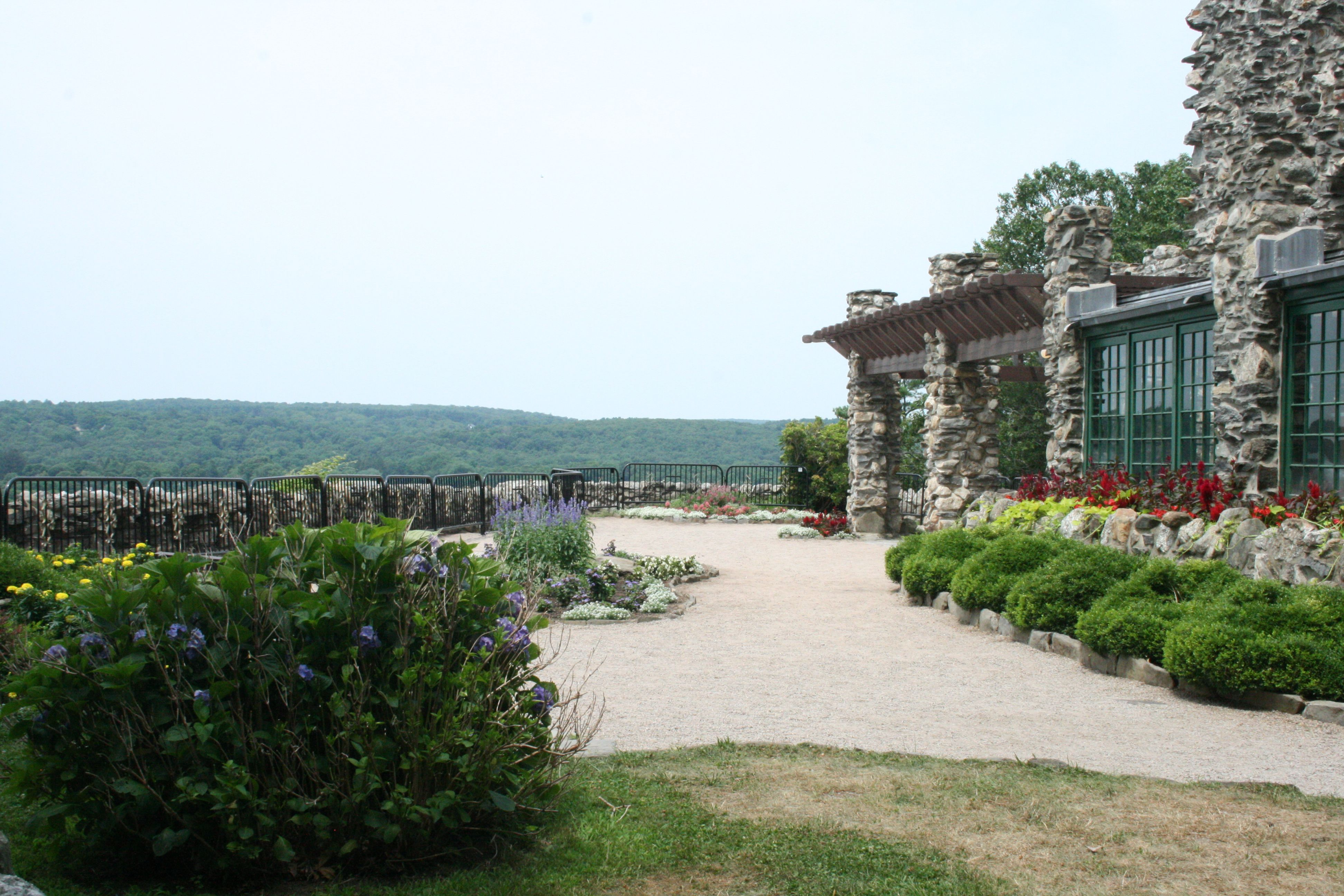 Most Gillette Castle Weddings Take Place On The Terrace It Is A Spectacular View Overlooking Connecticut River