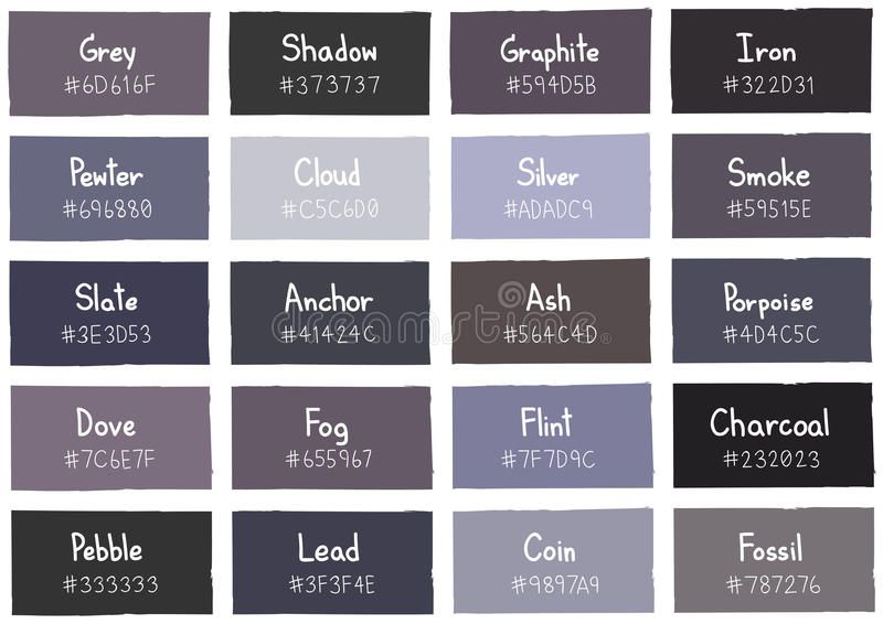 Image Result For Shades Of Colours And Their Names
