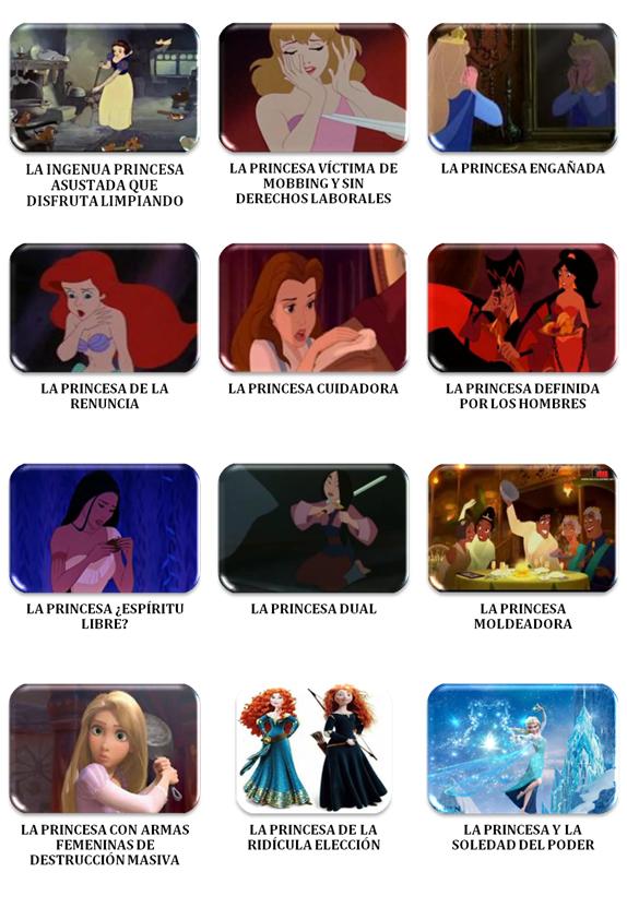 Disney Y Sus 12 Princesas El Sexismo Naturalizado 1