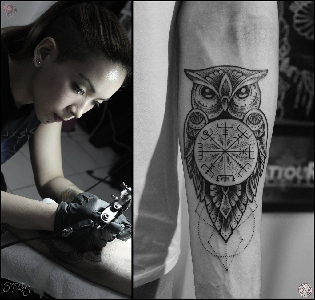 Owl Tattoo Camsy Valencia designs by camsy on DeviantArt  tattoos