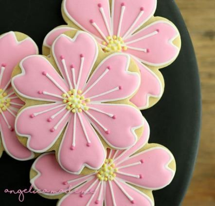 Best cookies decorated flowers desserts ideas Best cookies decorated flowers desserts ideas