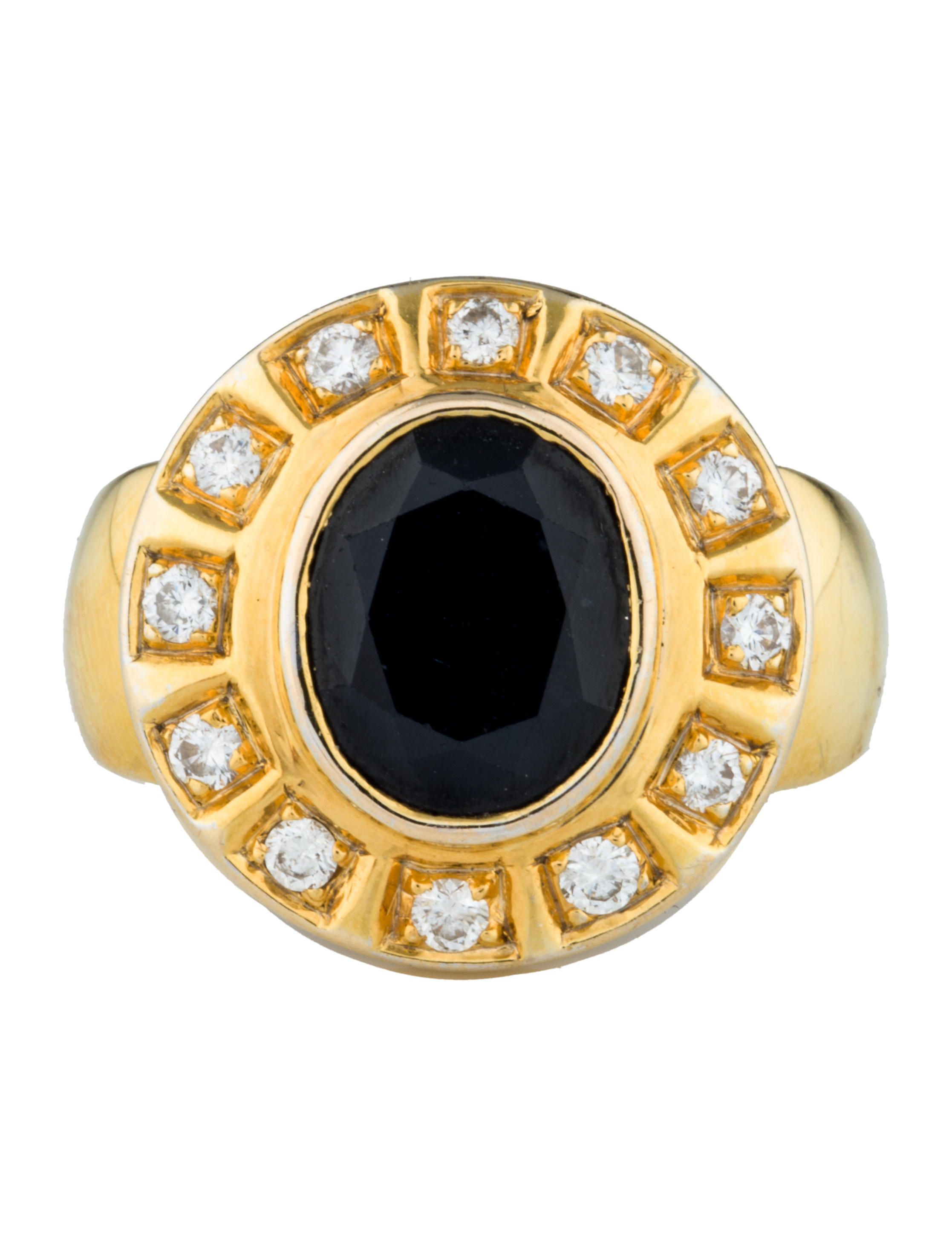 p ring diamond estate view mens and quick sapphire