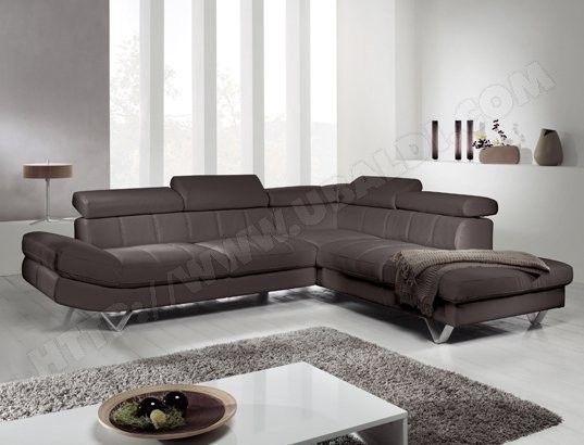 Canape Tissu Ub Design Revolution Angle Droit Brun Chocolat Canape Tissu Mobilier De Salon Design