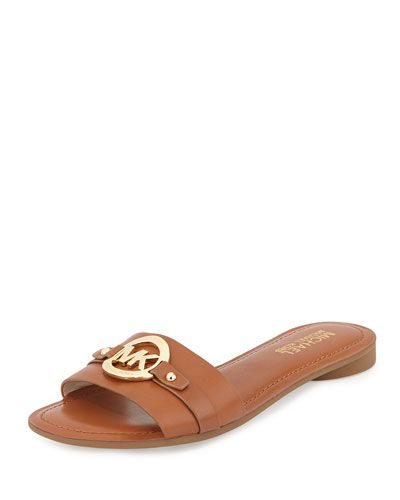 Molly Leather Slide, Luggage