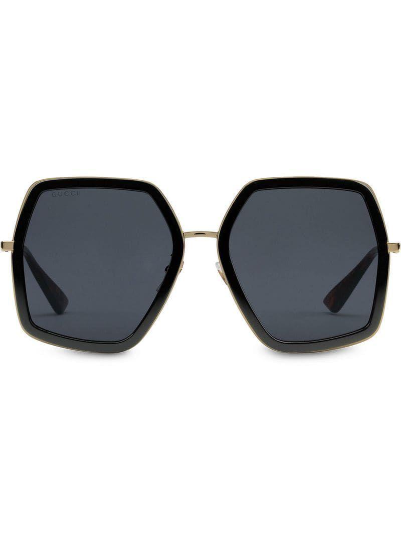 Gucci Eyewear Oversized square-frame Sunglasses – Farfetch