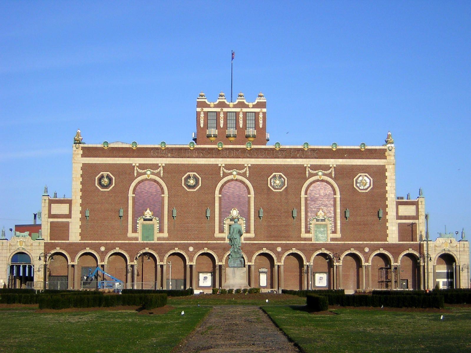 Asbury Park NJ Convention Hall Asbury Park