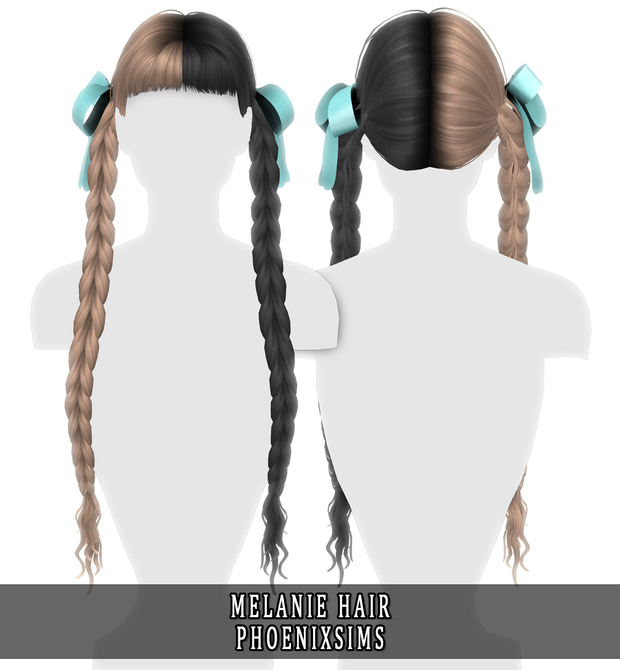 Photo of MELANIE HAIR | Phoenix-Sims on Patreon