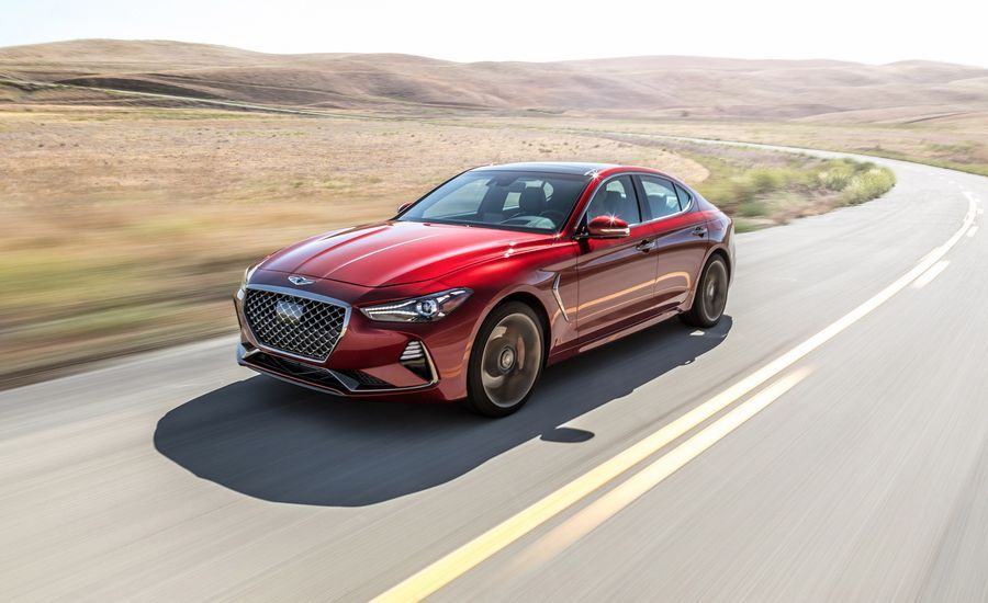 The 2019 Genesis G70 3 3t Is A Worthy 3 Series Competitor Bmw 3 Series Bmw Competitor