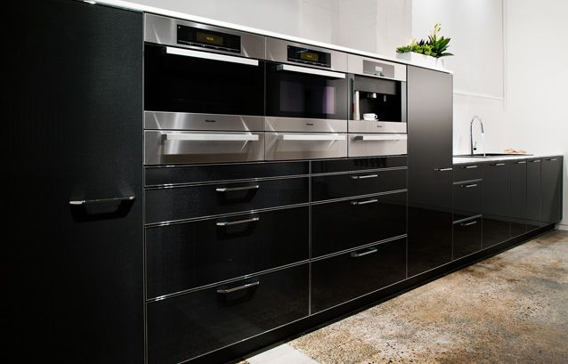 Carbon Fibre Kitchens From Studio Becker With Images Carbon Fiber Contemporary Kitchen Kitchen Collection