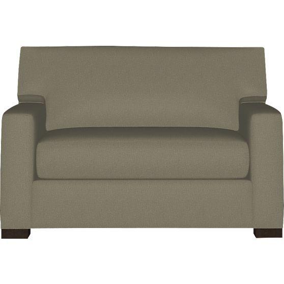 Axis II Twin Sleeper Sofa | Crate and Barrel