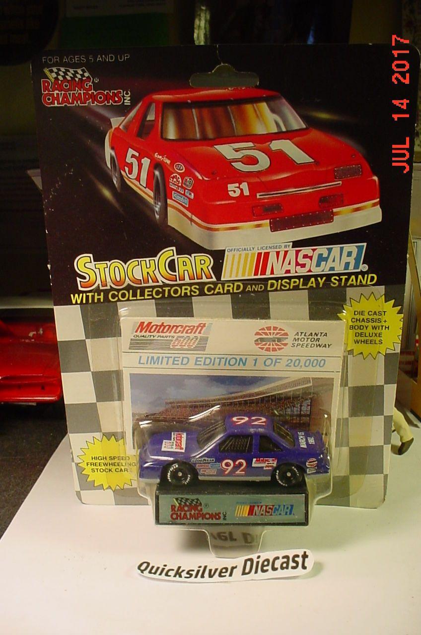 Racing Champions 92 Atlanta Motor Speedway Track Car