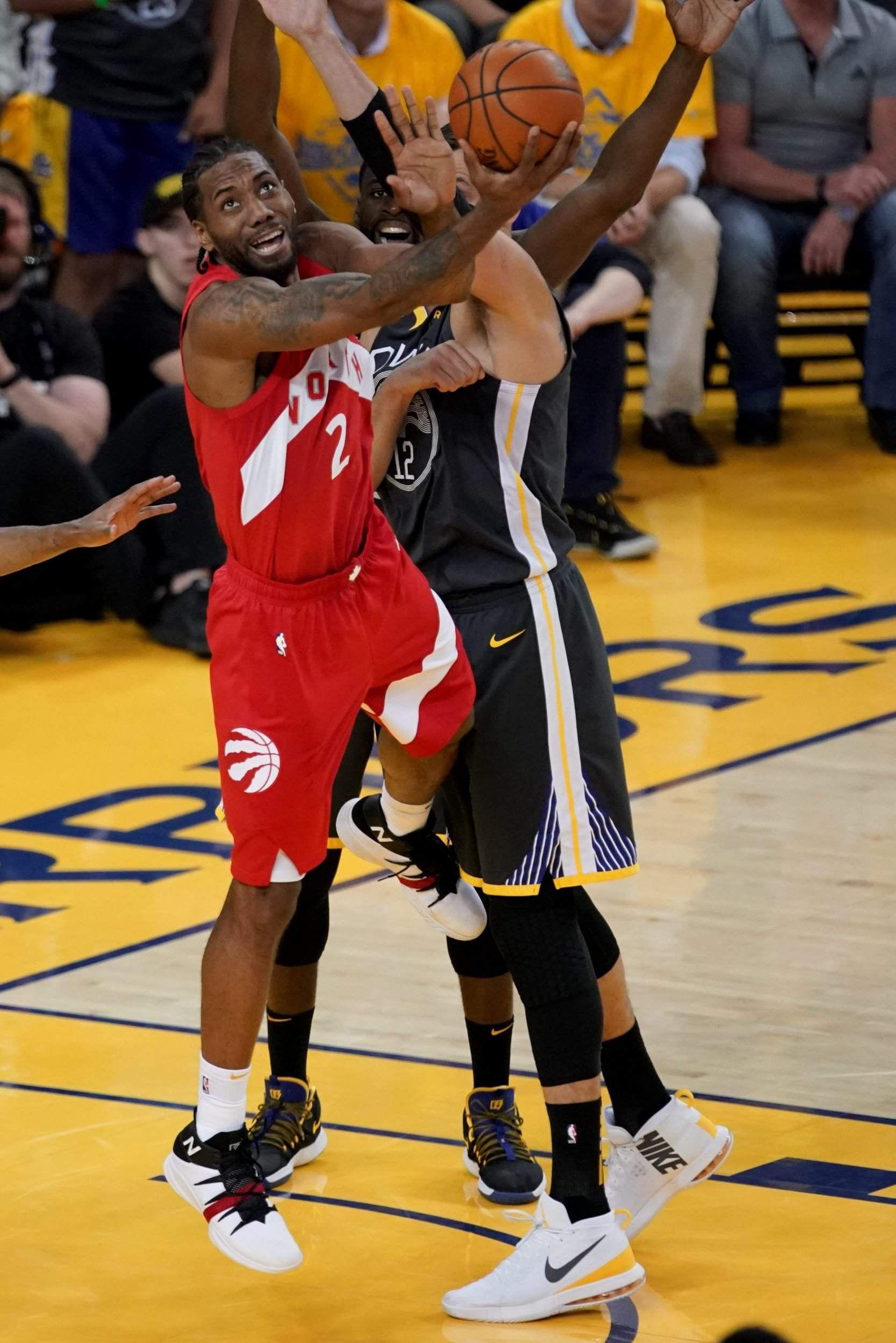 KAWHI LEONARD DOMINATES RAPTORS TAKE 3 1 NBA FINALS LEAD