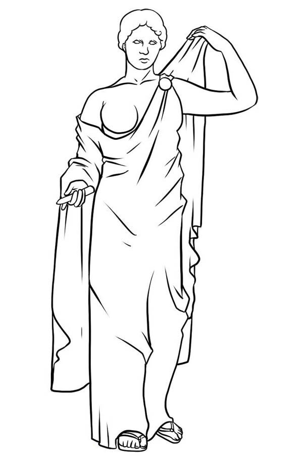 Awesome Drawing Greek Gods And Goddesses Coloring Page Netart Greek Gods And Goddesses Greek Gods Cool Drawings