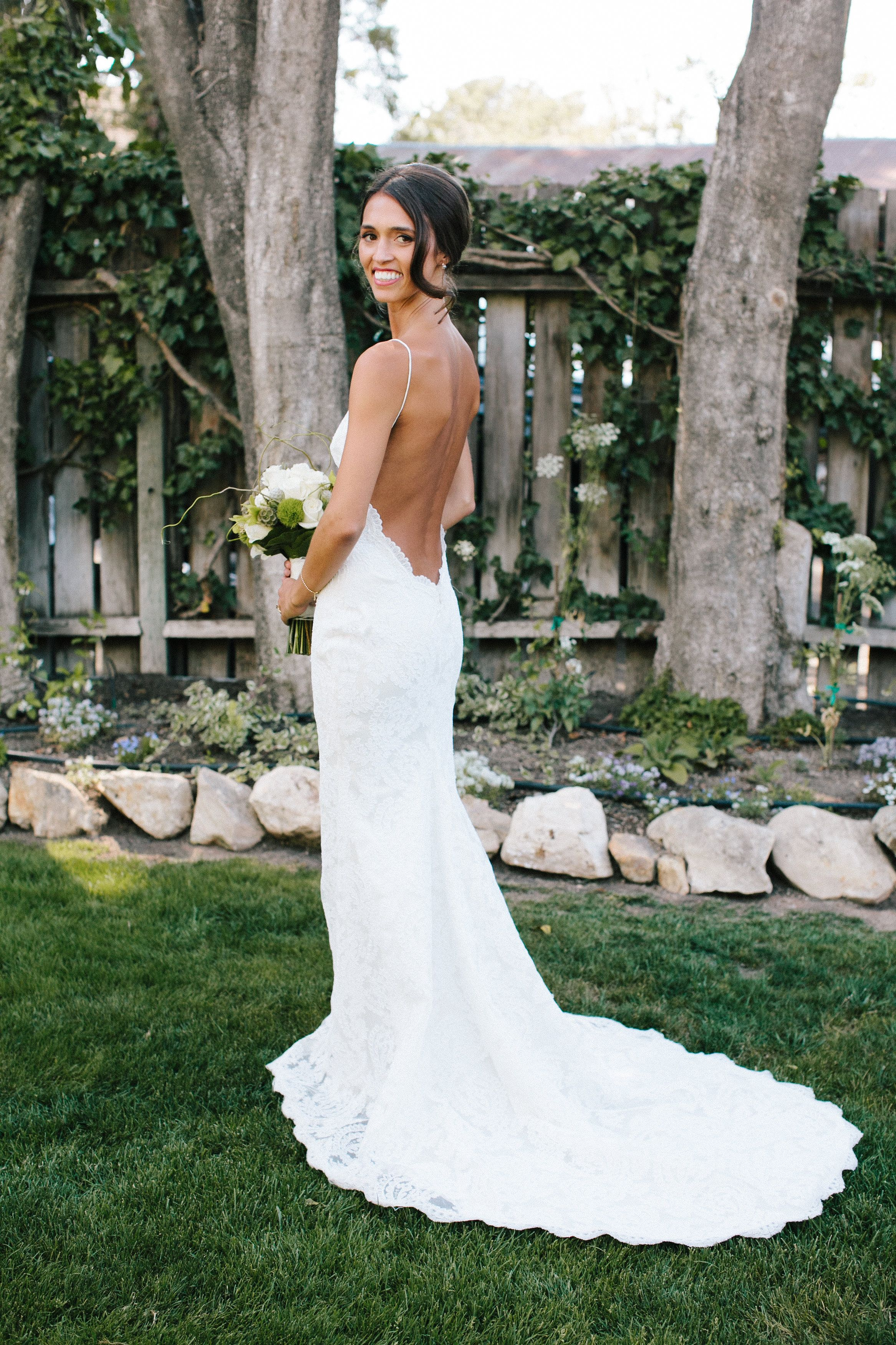 Our stunning bride Jessie in the Katie May Poipu gown. || Photo ...