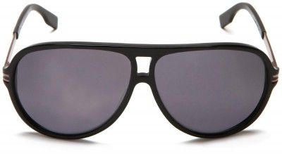 6d99042f73 Óculos Hugo Boss Men s 0398 Polarized Aviator Sunglasses Black Dark  Ruthenium Frame Grey Lens  Óculos  Hugo Boss