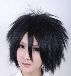 Alice Naruto Sasuke Short Black Hair Rebellious Cupola Cosplay Wig Cosplay Wigs Sasuke Cosplay Short Black Hairstyles