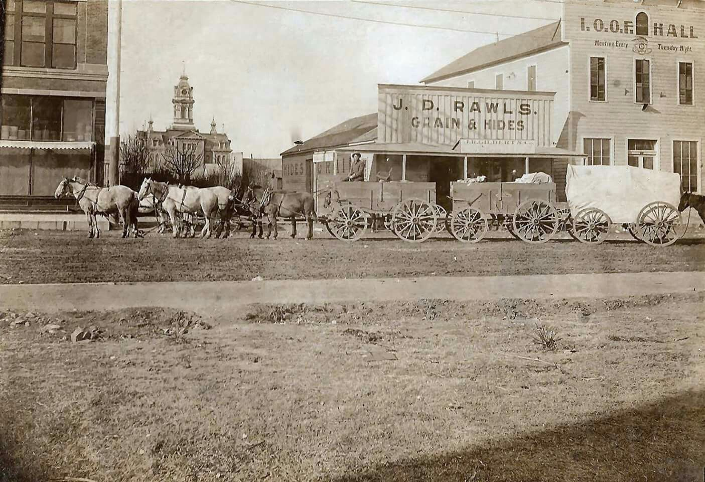 1896 Downtown San Angelo San Angelo Texas Old West Photos