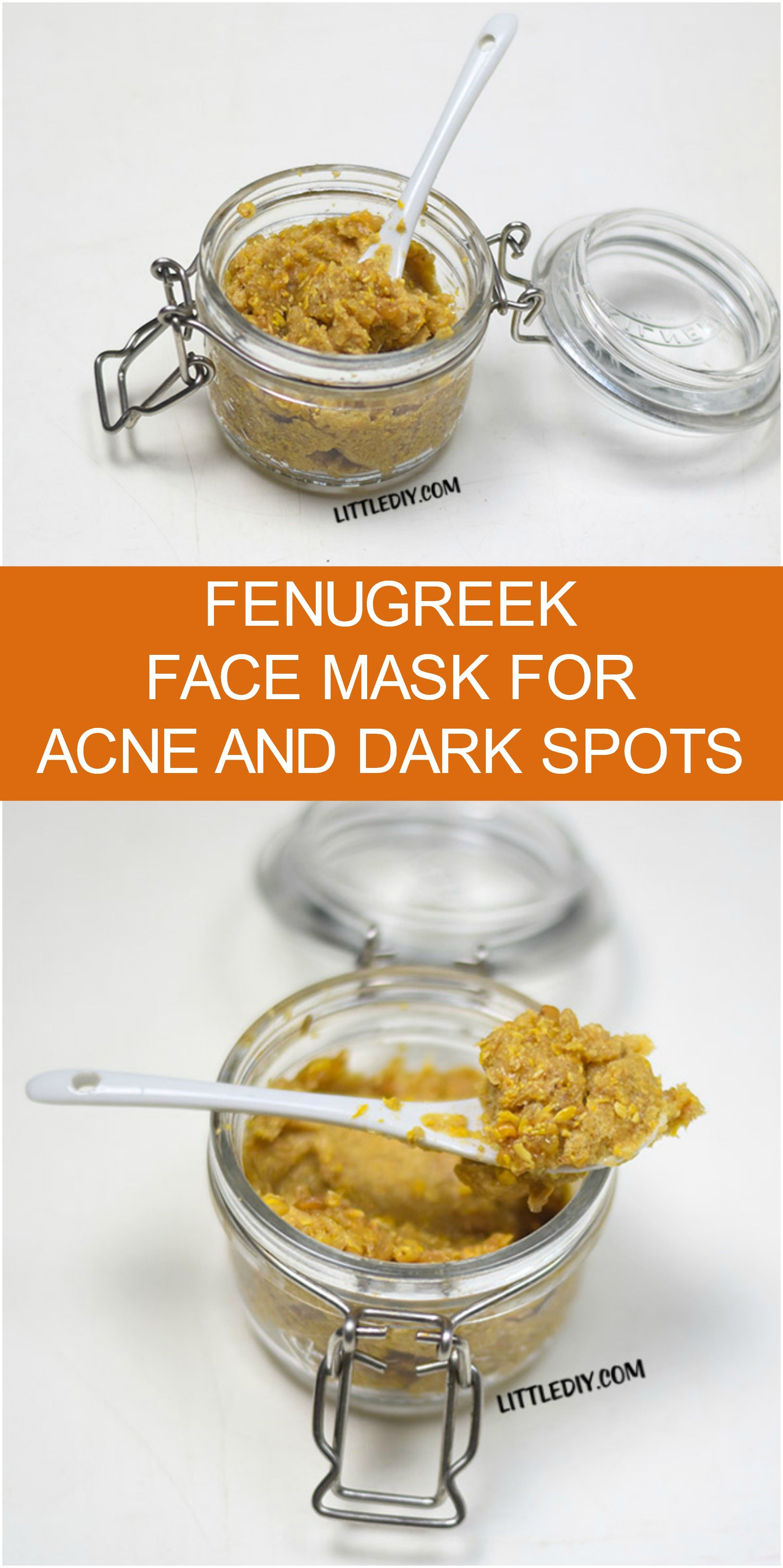 fenugreek on face