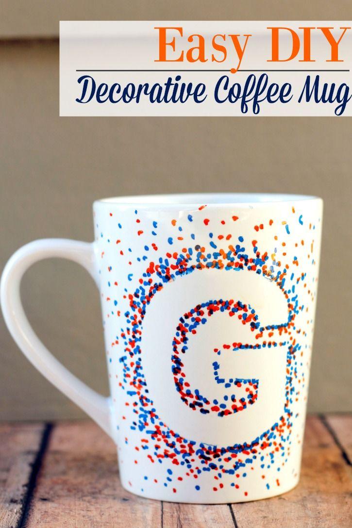 Diy Decorative Coffee Mug Make Crafts Your Own