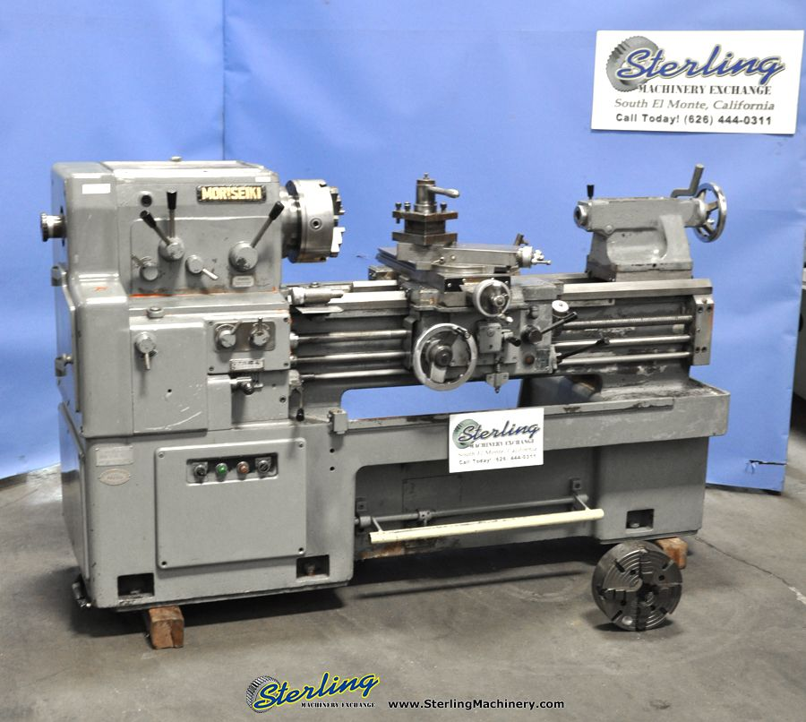Used Lathes Engine Lathe For Sale Precision Lathes Tool Room >> 17 X 32 Used Mori Seiki Engine Lathe Mdl Ms 850 3 Jaw Chuck 4