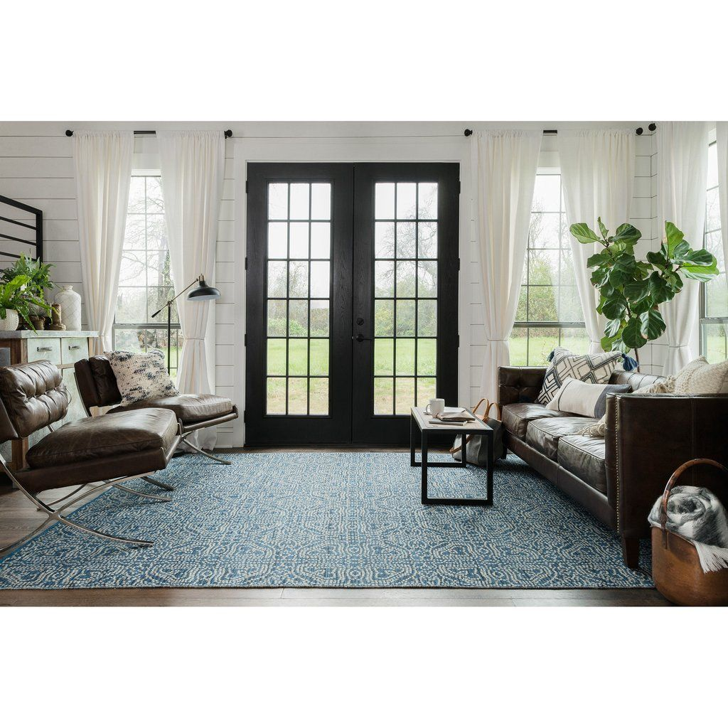 Ideal Home Living Room Emmie Kay Navy Cream Rug Home Sweet Ideal Home Pinterest