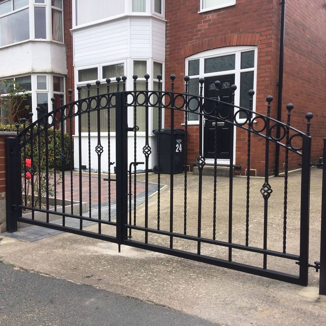 Two Sets Of Wrought Iron Gates We Recently Made In Halifax All