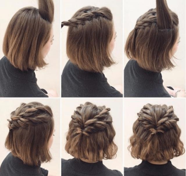 Peinados fácilespara cabello corto, con Paso a Paso! – Soy Moda
