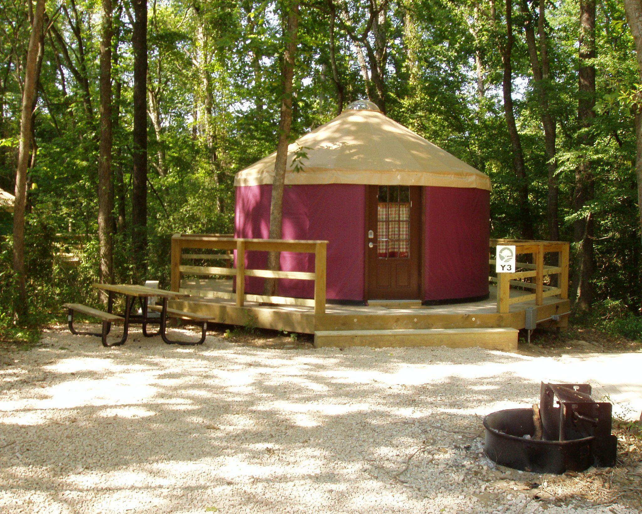 Yurt Yurt Yurt These Are Awesome Hot Springs Arkansas