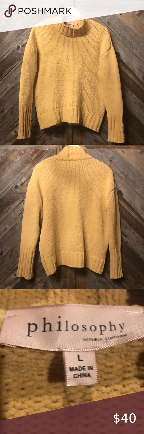 Philosophy Cowl Neck Sweater Cowl Neck Sweater Sweaters Clothes Design
