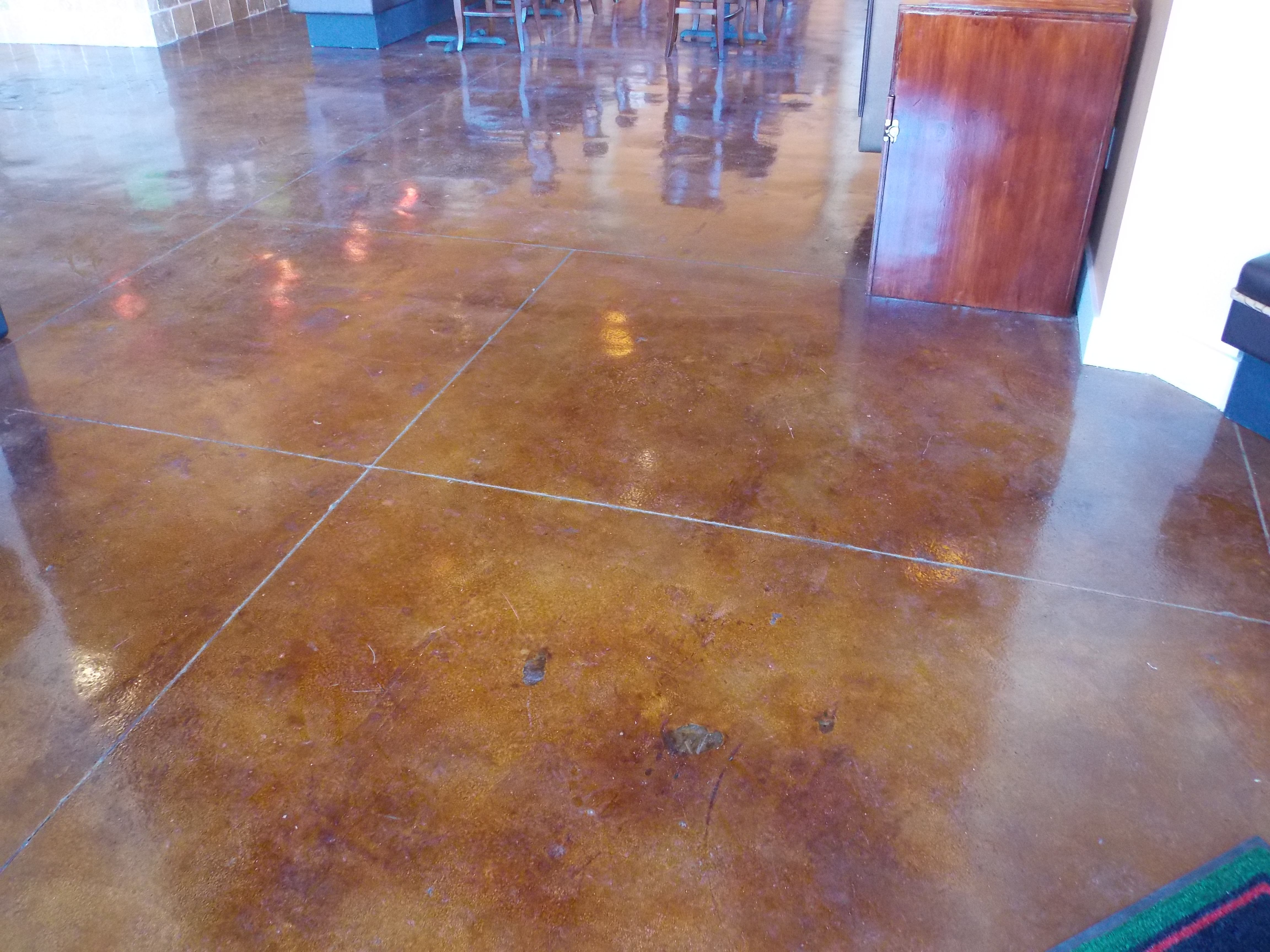 Remodeled mona lisas gourmet pizzarie at the rim stained floor remodeled mona lisas gourmet pizzarie at the rim stained floor ceramic tile custom painting remodeled dailygadgetfo Choice Image