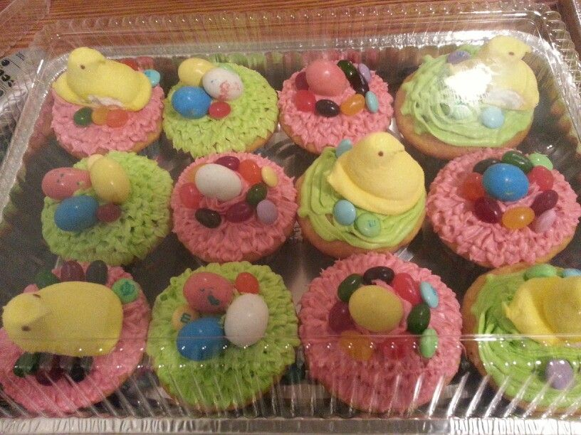 Monae's Easter cupcakes